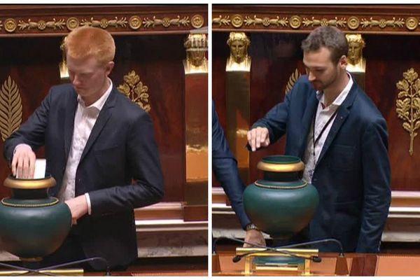 Les députés avaient bien une veste... mais pas de cravate.