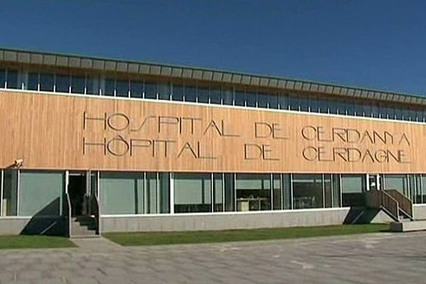 Puigcerda (Espagne) - le nouvel hôpital transfrontalier de Cerdagne - octobre 2013.