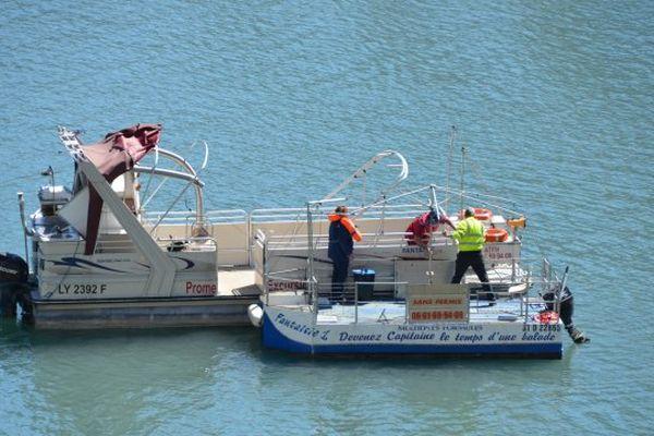 Les bateaux ont été mis à l'eau ce 30 avril