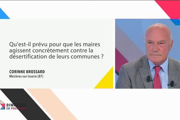Alain Rousset a répondu à la question d'une internaute