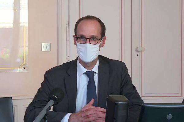Pierre Pribile, directeur général de l'Agence régionale de santé de Bourgogne-Franche-Comté, le vendredi 30 octobre.