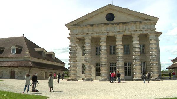 La Saline Royale de Claude Nicolas Ledoux à Arc-et-Senans (Doubs).