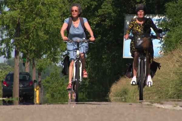 La moitié des déplacements fait moins de 3 kilomètres, le vélo est une alternative plus pratique que la voiture.