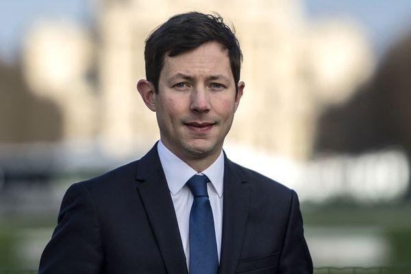 François-Xavier Bellamy, élu à Versailles et tête de liste LR aux élections européennes de mai 2019.