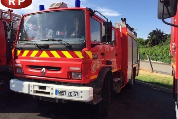 L'un des véhicules mis aux enchères par les pompiers du Bas-Rhin.