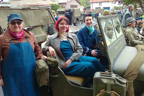 Aux côtés des GIs, les femmes aussi étaient présentes sur les zones de combat.