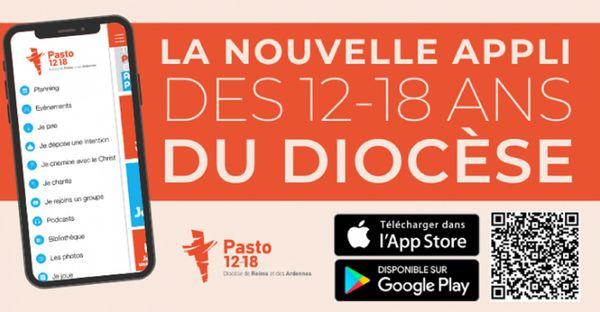L' Application à destination des jeunes de 12 à 18 ans et leurs animateurs dans le diocèse de Reims et des Ardennes.
