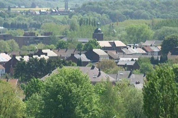 Farciennes (Belgique) - ville jumelée avec Beaucaire dans le Gard - 30 mars 2014.