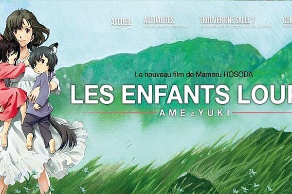 """Le film d'animation japonais """"Les Enfants Loups, Ame & Yuki"""" du réalisateur  Mamoru Hosoda sert de fil conducteur à la 8e édition du festival """"Tournez Bobines""""."""