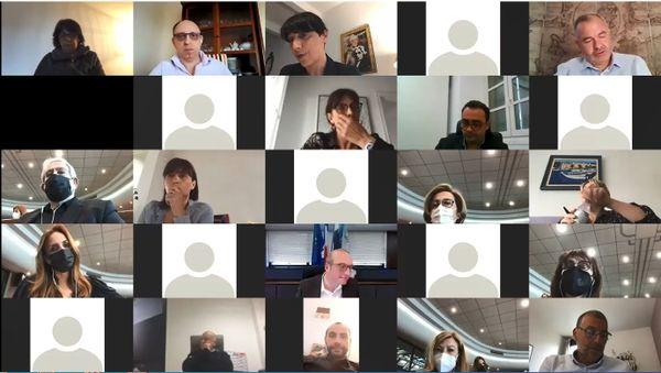 Le Conseil municipal s'est déroulé en visioconférence.