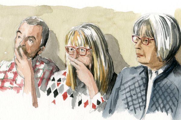 La mère de Christelle Blétry s'est exprimée à la barre mercredi.