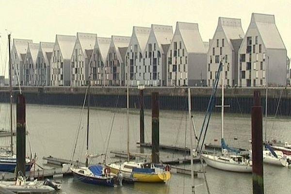 Le quartier du Grand Large à Dunkerque a été bâti sur l'ancienne friche des chantiers navals.