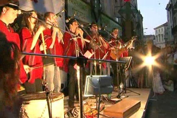 La fête de la musique dans les rues de Poitiers (archives)
