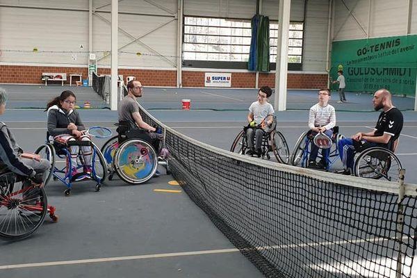 Le premier open junior de tennis en fauteuil et de céci-tennis se tiendra au complexe sportif de Hautepierre.