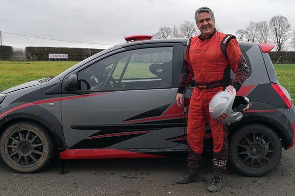 Alain Cusimano est prêt pour le 88ème Rallye Monte-Carlo.