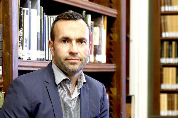 Thomas Faucher, archéologue à l'Institut de recherche sur les archéomatériaux (IRAMAT) - crédit G. Pollin/IFAO