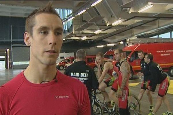 Besançon : Guillaume Brocco, pompier et champion du monde de triathlon à Barcelone