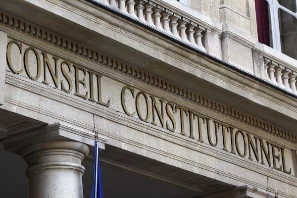 La façade du Conseil constitutionnel à Paris.