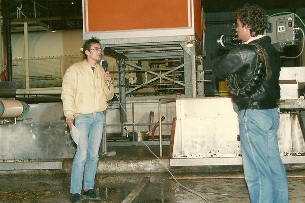 Un direct en 1987 avec Michel Buzon, à la caméra Michel Cohadier