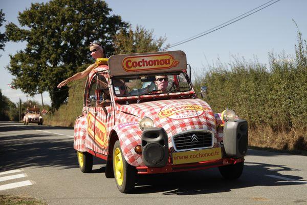 Caravane publicitaire Cochonou - Tour de France 2020
