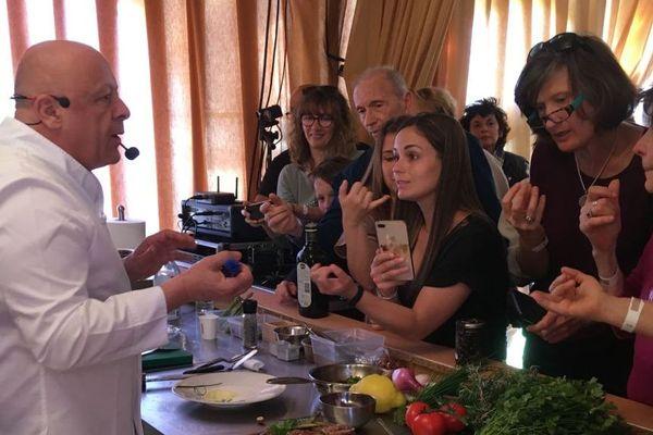 Le chef étoilé, Thierry Marx, est l'un des trois parrains de l'édition 2019 du festival culinaire Art'è Gustu.