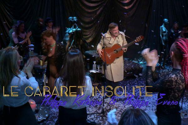 Le cabaret insolite avec Philippe Katerine et Philippe Eveno