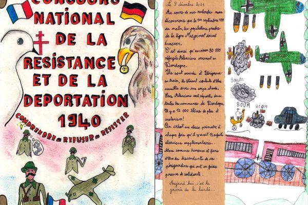 Documenté et largement illustré, l'ouvrage des élèves d'Eygurande a séduit le jury