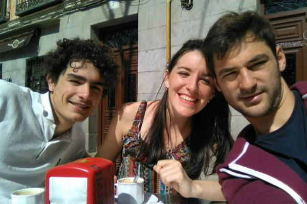 Joaquim et sa sœur à Madrid en Espagne, quelques semaines avant sa mort - photo fournie par la famille - 2017
