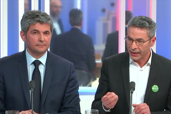 Débat Municipales 2020 Chalon-sur-Saône : Gilles Platret (LR) et Mourad Laoues (EELV)
