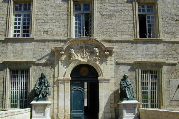 La fac de médecine de Montpellier.