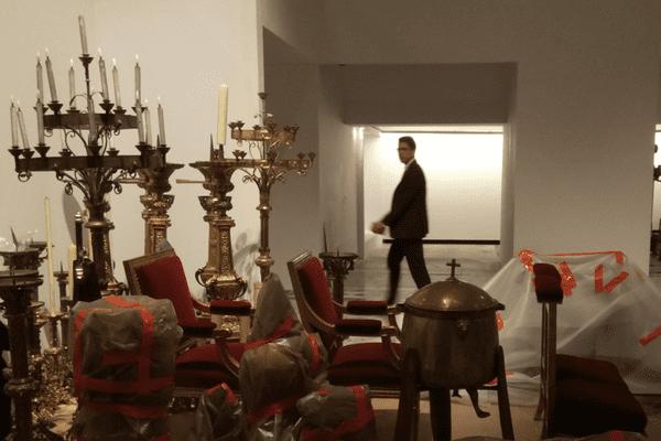 Des centaines d'oeuvres d'art exposées en la cathédrale Notre-Dame-de-Paris ont pu être mises à l'abri des flammes ?