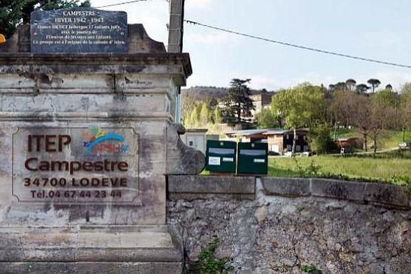 Le centre thérapeutique de Lodève (Hérault), le 5 avril 2014.