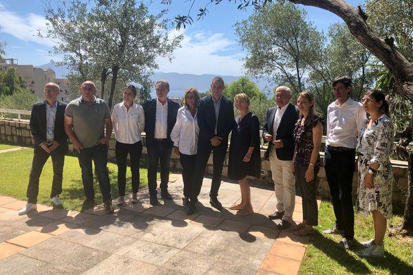 Ce vendredi 2 juillet, le nouveau conseil exécutif de Corse s'est réuni pour une première réunion de travail.