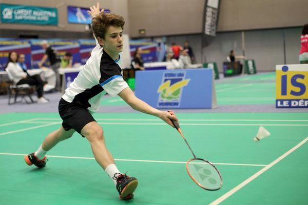 Alex Lanier, à 16 ans, défie tous les records de précocité en badminton