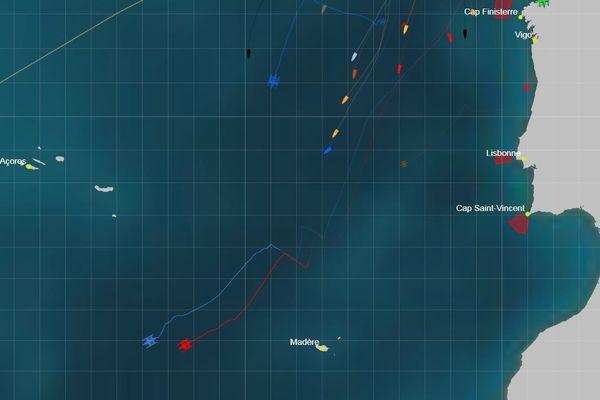 Cartographie des premiers au 07 novembre