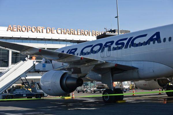 Le premier vol de la compagnie régionale corse Air Corsica à l'aéroport de Bruxelles Charleroi a eu lieu le 26 mars 2017.