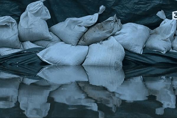 Inondations limitées à Morlaix le 3 mars 2014