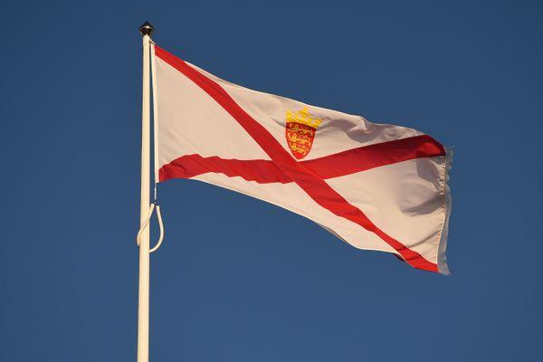 Le drapeau de Jersey