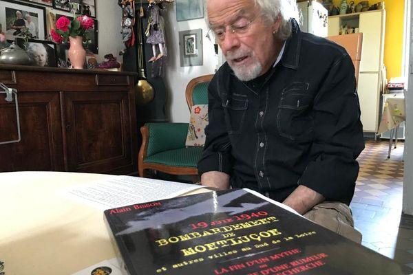 Alain Bisson a consacré plusieurs années de sa vie à sortir de l'oubli les victimes du bombardement allemand du 19 juin 40 sur Montluçon.