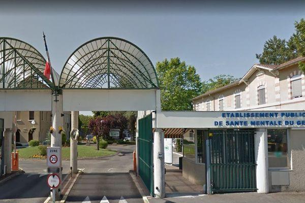 L'entrée de l'établissement rue Michelet à Auch