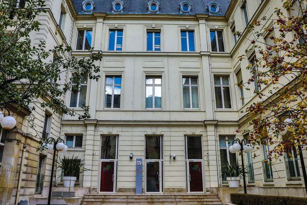 Le siège du Parti socialiste, rue de Solferino, à Paris.