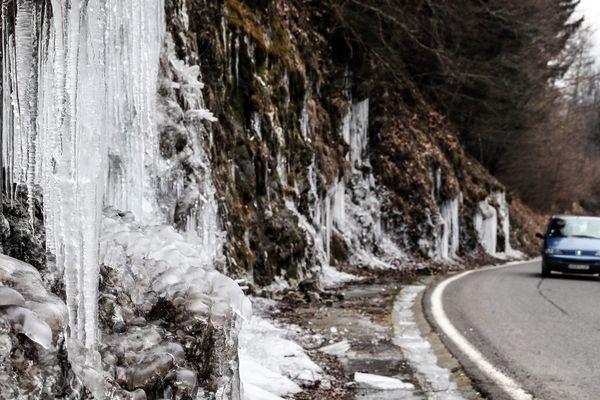 Des températures extrêmes jusqu'à -21 degrés ont été relevées dans certains départements de la région Auvergne-Rhône-Alpes