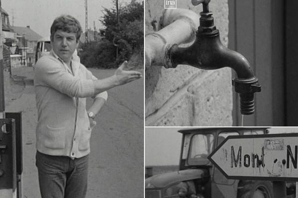 Images issues du reportage diffusé par l'ORTF en 1973