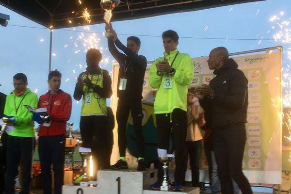 Les récompenses ont été remises par Stéphane Diagana.