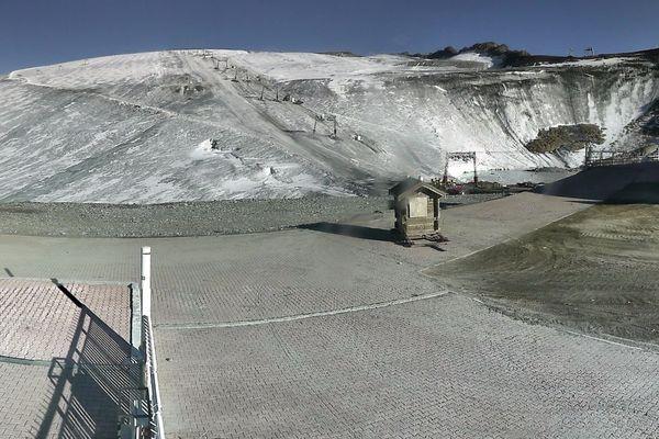 Le glacier des 2 Alpes ce mercredi 11 octobre 2017.
