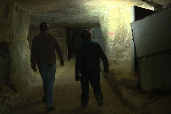 Les cavités et galeries souterraines inspectées en Anjou