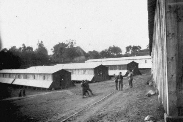 Le camp de Saint-Germain-les -Belles
