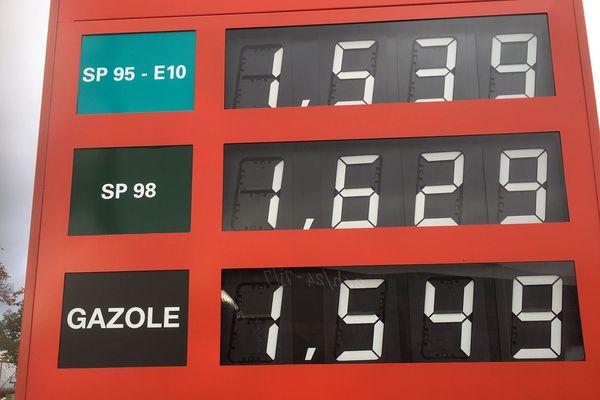 Dans plus de la moitié des stations-service du département, le gazole est désormais plus cher que l'essence, notamment le sans-plomb 95.