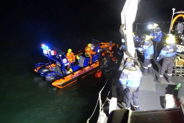 Le patrouilleur côtier de la gendarmerie maritime (PCG) intervient aux côtés de la société nationale de sauvetage en mer (SNSM)