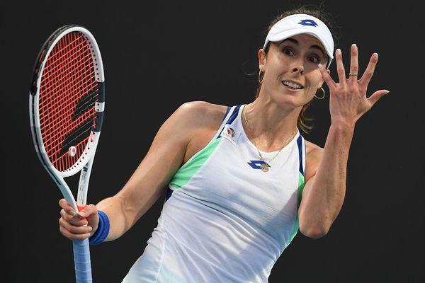 La Niçoise a fêté ses trente ans en plein Open d'Australie.